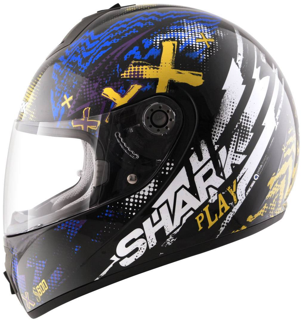 Shark S600 Play Casco Nero/Blu XL (61/62)