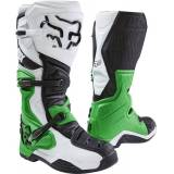Fox Comp 8 SE RS Stivali motocross Nero/Bianco/Verde 10