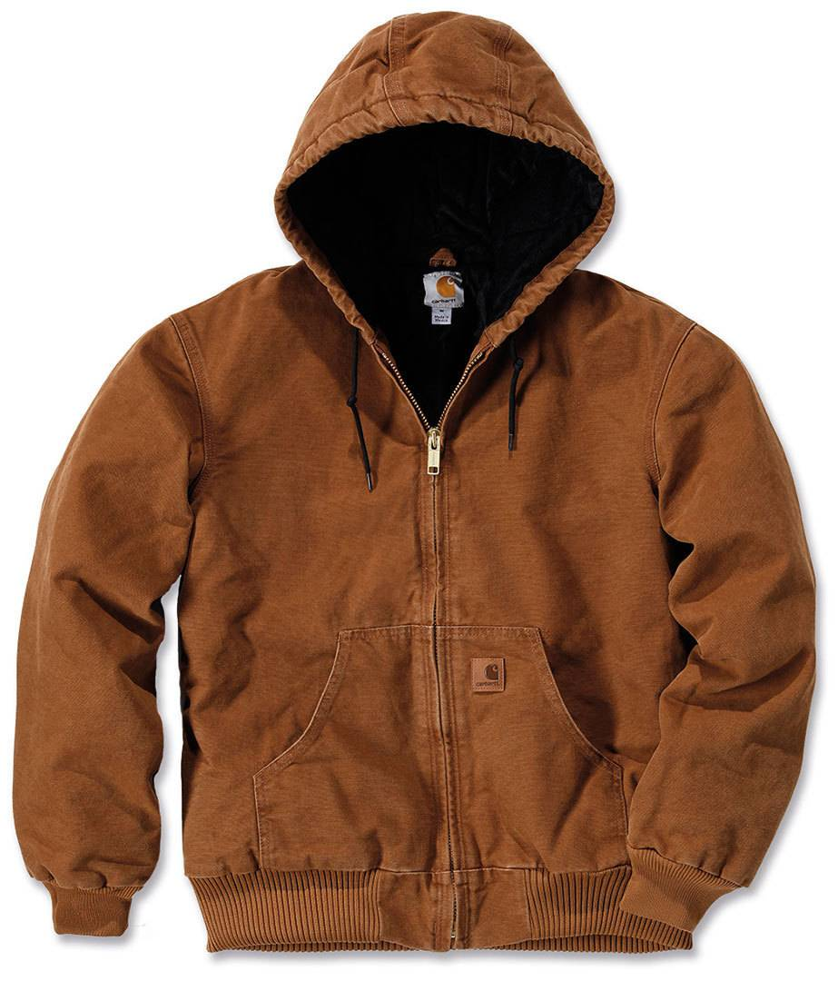 Carhartt Quilt Flannel Lined Sandstone Active Giacca Marrone L