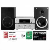 LG TA106 Micro impianto iPod/iPhone-Dock 100W RMS USB MP3
