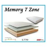 ErgoRelax Materasso Memory Foam Zone Differenziate Sfoderabile Mod 7 Zone da Cm 160x200 -