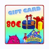 DIVERTILANDIA Gift Card Euro 80.00