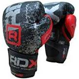 RDX ultima in pelle Guanti Boxe Lotta, Punch Bag MMA Muay thai Grappling Pad