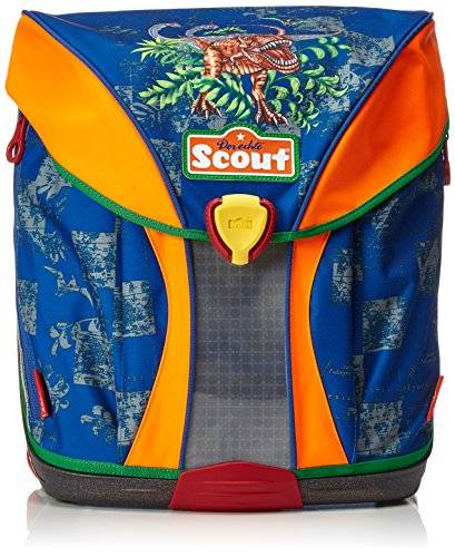 Scout Zaino con comparto per pc donna, color Multicolore (Dunkelblau), talla 40 cm