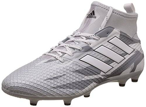 Adidas ACE 17.3 Primemesh Fg - Scarpe Calcio Uomo - Men's Football Shoes - BB1015, CLGREY/FTWWHT/CBLACK, 42