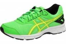Asics GEL-GALAXY 9 GS BOYS (4,5 USA - 37 EUR) (GREEN GECKO/SAFETY YELLOW/BLACK)