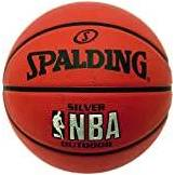Spalding Silver Outdoor Palla da basket NBA,  -, 5