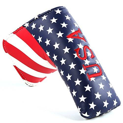 Outdoor Leisure Usa Stars Stripes TaylorMade Golf putter Headcover for Scotty Cameron ping Blade