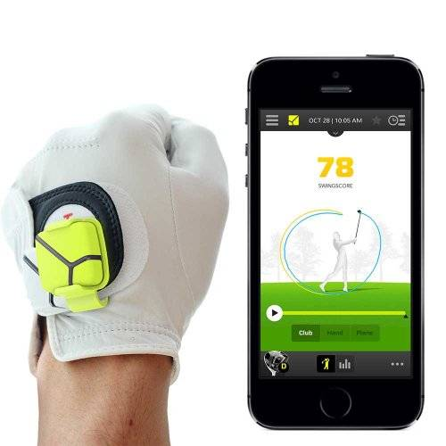 Zepp Golf Kit per iPhone/iPad/Android, con Sensore Agganciabile, Collegamento in Wireless, Analizzatore Dati