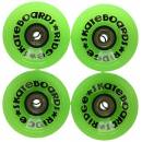 Ridge Skateboards 70mm Longboard Wheels Ruote per Skateboard, Verde