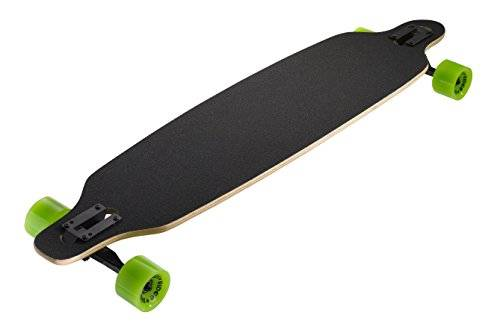 Ridge Skateboards Monster Twin Tip Longboard Skateboard, Nero, 41