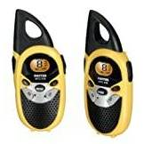 Switel WTCF519, Set Walkie Talkie, 5 km, colore: Nero/Giallo