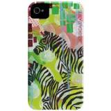 Case Mate Case-mate Jessica Swift Barely There Designer Cases for Apple iPhone 4/4s - Mind Reading Zebras