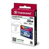 Transcend Extreme-Speed 32GB Compact Flash (CF) Scheda di memoria 400x
