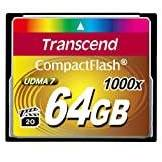 Transcend CompactFlash Card 1000x 64GB