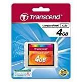 Transcend TS4GCF133 Compact Flash 133x 4gb