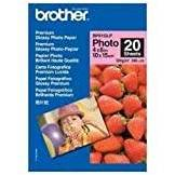Brother BP61GLP Glossy Photopaper 20 A6 10 x 15 cm (A6) Carta fotografica