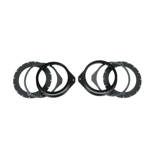 Hama Adapter Rings for Loudspeakers for Audi A4 from year of constr. 1/2001 - mounting kits