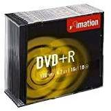 Imation Dvd+R 16X 4.7 Gb Slim Conf.10 Pz