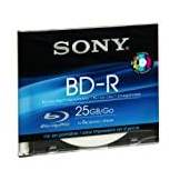 Sony Blu-Ray Disc 25gb 6x Slim Case, Inkjet P