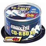 Maxell CD-R 80MIN 700MB 52X 50PK Cakebox