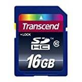 Transcend TS16GSDHC10E Secure Digital HC10 16Gb
