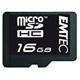 Emtec 60X Micro SDHC Secure Digital 16384 MB