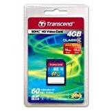 Transcend SDHC Card 4GB
