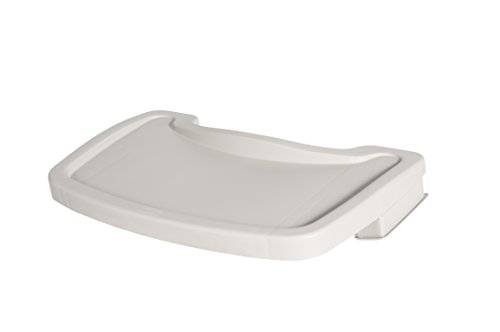 Rubbermaid Tray For Sturdy High Chair Durable Plastic Non-porous Grey Ref 7815-88GRY