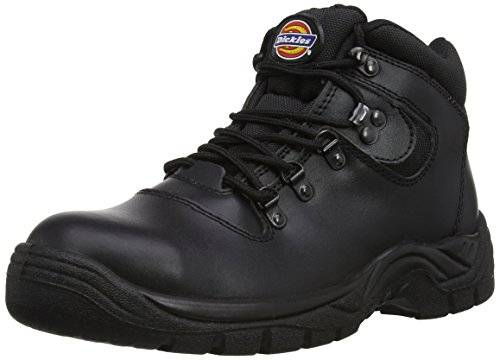 Dickies - Fury, Scarpe antinfortunistica uomo, color Nero (Black), talla 38 EU (5 UK)