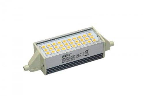 Wentronic Blocco LED R7S 118mm SMD 5050 8 W 600 Lm Bianco Caldo