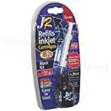 UR Inkjet KIT Essai Black Inkjet / getto d'inchiostro Kit di refill