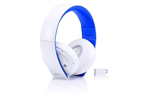 Sony PS4/PS3/PS Vita/PC: 2.0 Wireless Stereo Headset, Bianco - Special Limited Edition