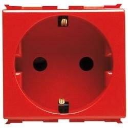 Gewiss GW30322 Red outlet box - outlet boxes
