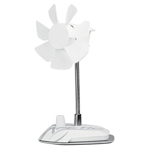 Arctic Breeze Color USB Table Fan - household fans (White, 5V / 0.2A, 96 mm, 100 mm, 186 mm, 265 g)