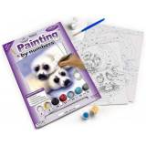 Royal & Langnickel painting by Numbers A4size Seal e pittura, motivo: cuccioli