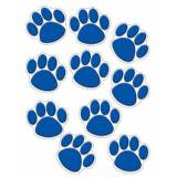 Creative ACCENTS BLUE PAW PRINTS
