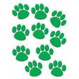 Creative GREEN PAW PRINT ACCENTS 30 PK