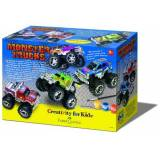 Faber-Castell Faber Castell Kit Creat Monster Trucks