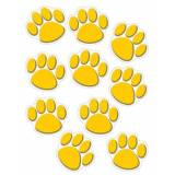 Creative GOLD PAW PRINTS ACCENTS
