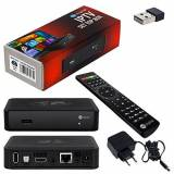 HB-Digital MAG 254 IPTV SET TOP BOX Multimedia Player Internet TV IP ricevitore + HB-Digital chiavetta WIFI