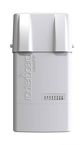 Mikrotik BaseBox 2 Power over Ethernet (PoE) Grey WLAN access point - WLAN access points (IEEE 802.11b,IEEE 802.11g,IEEE 802.11n, 10,100,1000 Mbit/s, 2.4 - 2.5, 64 MB, Atheros AR9342, Wi-Fi, Ethernet (RJ-45))