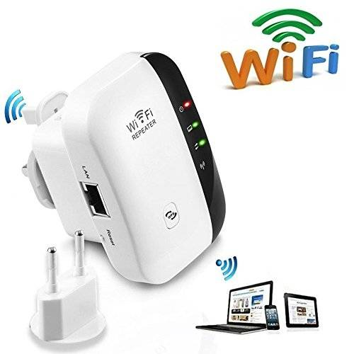 Seaidea Wlan Router WiFi Ripetitore Wireless Long Range Extender Amplificatore Wireless-N N300 Mbps Mini AP Access Point 2.4GHz Rete Segnale Booster LAN Client Ponte IEEE 802.11 b/g/n