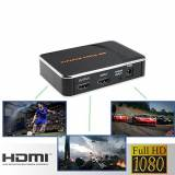 Tech Stor3 Game Capture Pro HD Gioco 1080P Registratore Gameplay gaming per PC Xbox One / 360 & PS4 / PS3 WII / WIIU Recorder Streaming Video Grabber VHS (Gameplay Recorder Nero)