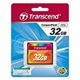 Transcend TS32GCF133 Compact Flash 133x 32gb