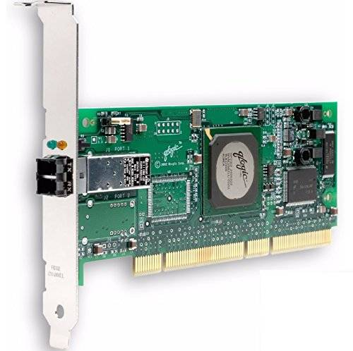 QLogic 64-bit, 133MHz PCI-X to 2 Gb Fibre Channel adapter single-port optic standard interface cards/adapter - interface cards/adapters (133MHz PCI-X to 2 Gb Fibre Channel adapter single-port optic standard, PCI-X, 133 MHz, 5.0, 7.0, 0 - 55 °C, -20 - 70 °C, 10 - 90%)