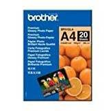 Brother Avery Premium BP61GLA Carta fotografica lucida, 20 pagine, formato A4 (210 x 297 mm)