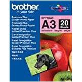 Brother BP71GA3 Glossy Photopaper 20 A3 29,7 x 42 cm (A3) Carta fotografica