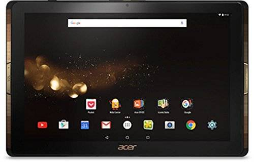 "Acer Tablet PC da 25,6 cm (10,1"" Full HD) (Quad-Core Cortex A53, 2 GB di RAM, Android 6.0 Marshmallow) nero nero 32 GB"