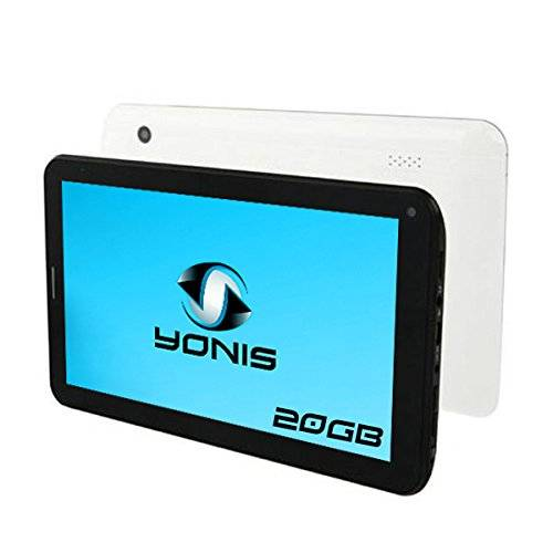 YONIS Tablet touch, 3 g, 7 pollici, Android 4,0 GSM/WiFi HD 3D, 20 GB, colore: bianco